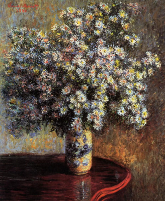Claude Monet. Asters