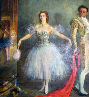 Петр Владимирович Вильямс. Балерина Марина Семенова