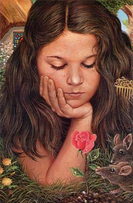 Ричард Хесс. Девочка с цветком