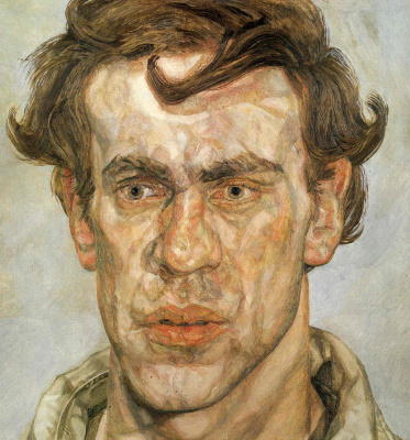 Lucien Freud. Young artist