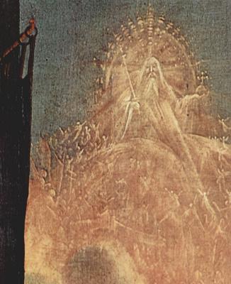 Маттиас Грюневальд. Вторая лицевая сторона, центральная часть,