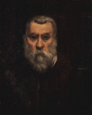 Jacopo Tintoretto. Self-portrait