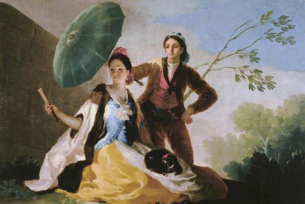 Francisco Goya. Umbrella
