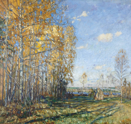 Stanislav Yulianovich Zhukovsky. Golden autumn
