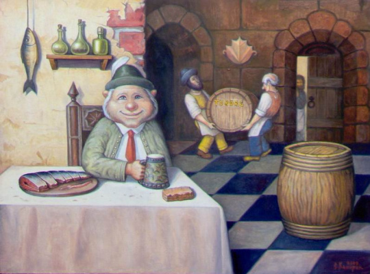 Stepan Vladimirovich Kashirin. In the cellar