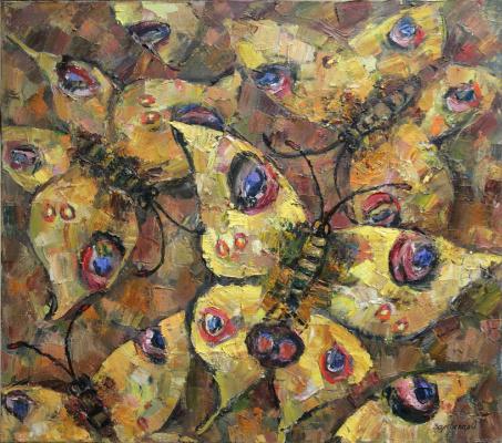 Oksana Viktorovna Zalevskaya. Golden butterflies