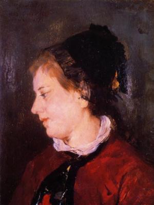 Mary Cassatt. Portrait of Madame Sisley