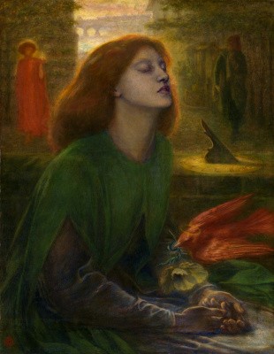 Dante Gabriel Rossetti. Blessed Beatrice