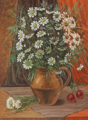Margarita Vadimovna Pichugina. Chamomile mood