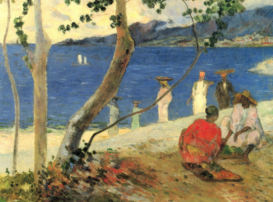 Paul Gauguin. Fruit Bearers at the Turin Cove