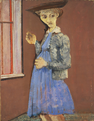 Rothko Mark. Portrait of Mary