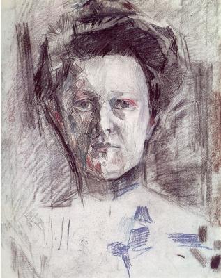 Михаил Александрович Врубель. Портрет Веры Александровны Усольцевой