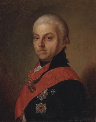 Vladimir Lukich Borovikovsky. Portrait of Troschinsky.