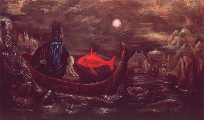 Леонора Каррингтон. Король-рыбак