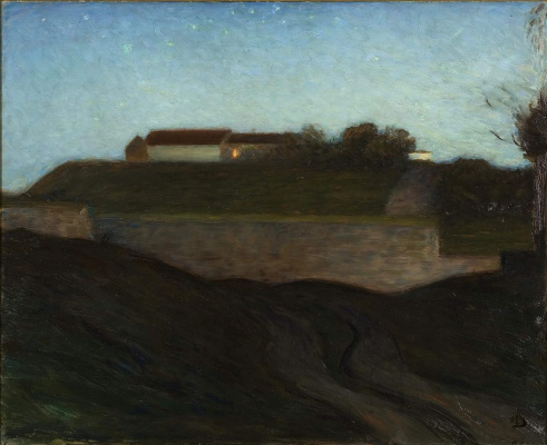 Sven Richard Berg. Fortress Varberg.
