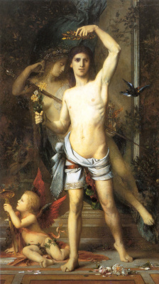 Гюстав Моро. Молодой человек и смерть