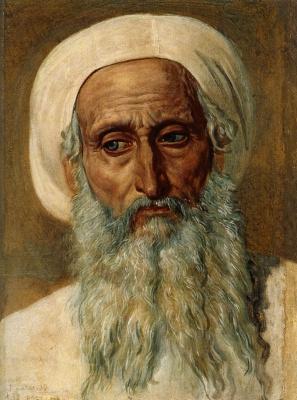 Александр Андреевич Иванов. Голова фарисея в чалме