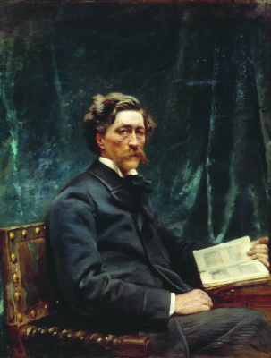 Konstantin Makovsky. Portrait Of S. N. Khudekov