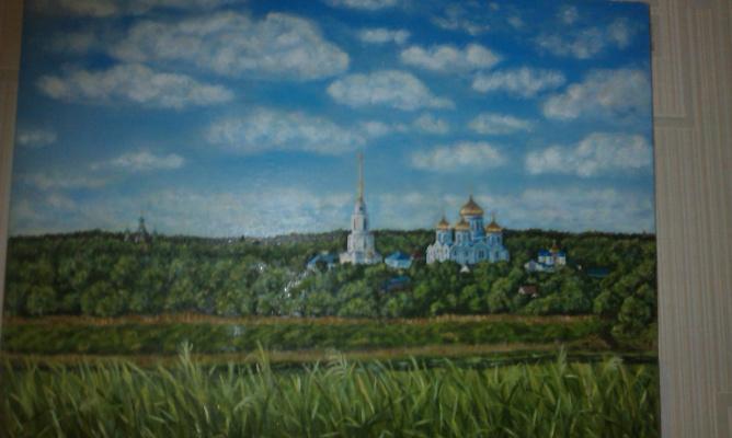 Елена Гришанова. Монастырь. Задонск.
