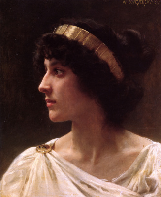 Adolphe William Bouguereau. Irina