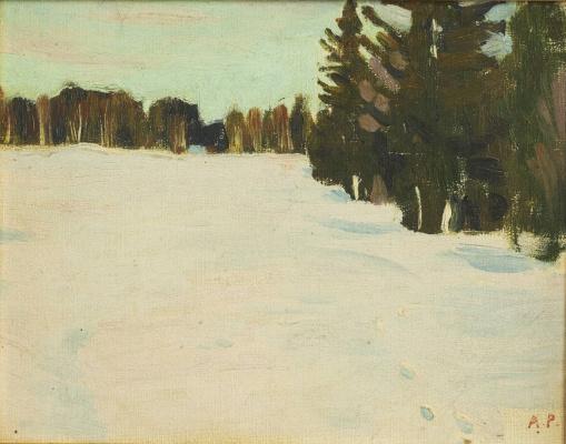 Arkady Alexandrovich Rylov. Winter