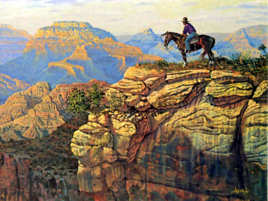 Джим Альберта. Большой каньон