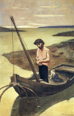 Пьер Сесиль Пюви де Шаванн. Лодка