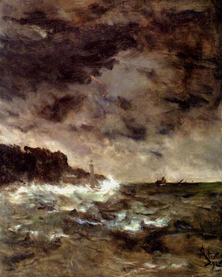 Alfred Emil-Leopold Stevens. Darkness
