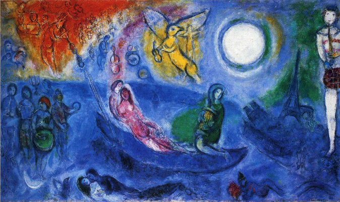 Marc Chagall. Concert