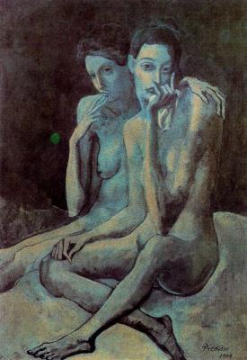Пабло Пикассо. Две подруги