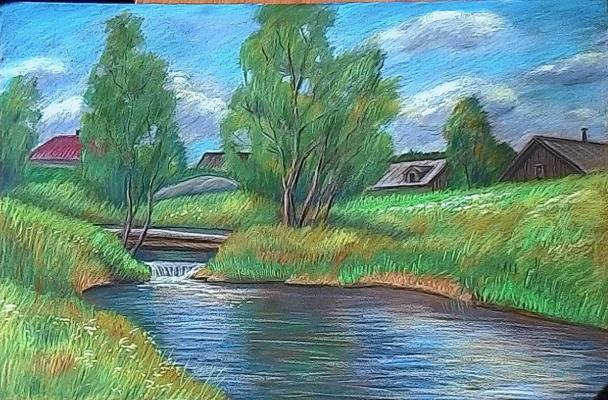 Irina Soboleva. Village Creek