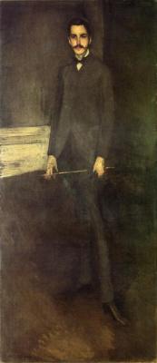 James Abbot McNeill Whistler. Portrait Of George W. Vanderbilt