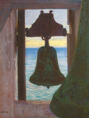 Edward Perch. The bell tower on the seafront