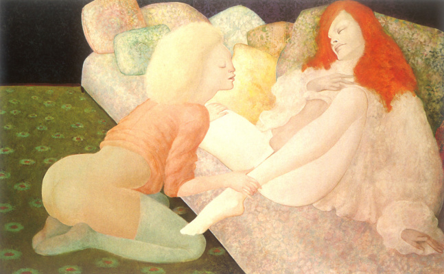 Leonor Fini. L'Entre duex