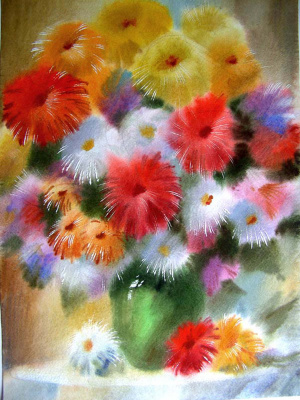 VICTOR ZELIK. Bouquet