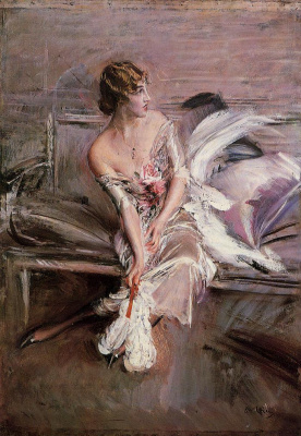 Giovanni Boldini. Portrait of Gladys Deacon
