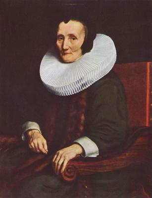 Nicolas Mas. Margrethe de Geer, wife of Jacob Trip