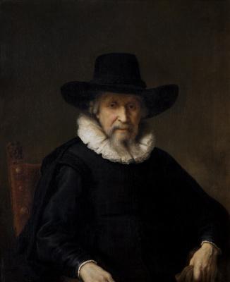 Фердинанд Балтасарс Боль. Портрет Ефрема Буэно