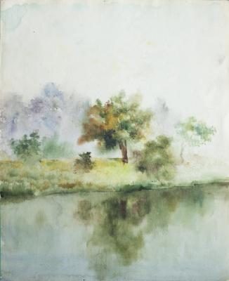 Anatoly Vasilievich Smagin. Утро просыпается на реке