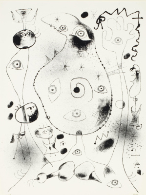 Joan Miro. Barcelona VII, from Barcelona Series