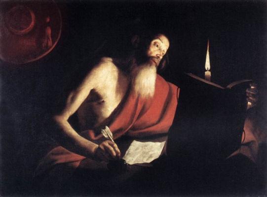 Trophim Bigo. Saint Jerome
