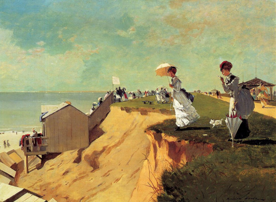 Winslow Homer. Long Beach