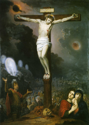 Vladimir Lukich Borovikovsky. The crucifixion