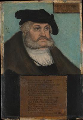 Лукас Кранах Старший. Курфюрст Саксонии Фридрих III