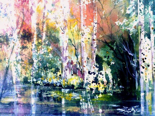 Maureen Tomaino. Waterway Reflections