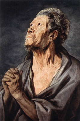 Jacob Jordaens. Apostle