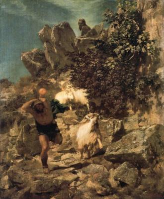 Arnold Böcklin. Flight