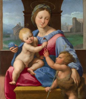 Raphael Santi. Aldobrandini Madonna (Madonna Lord Garvagh)