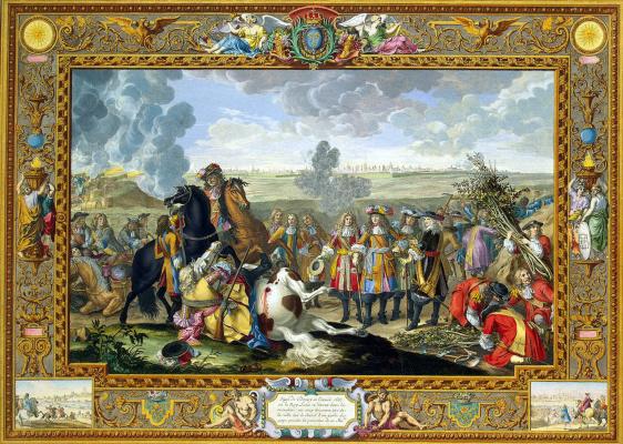 Себастьян Леклерк. Французская армия осаждает крепость