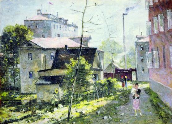 Александр Васильевич Шевченко. Проходной двор. 1944